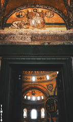 Hagia Sophia - Istanbul - Turkey (TLMELO) Tags: turkey islam faith pray istanbul reza istambul turquia f quran koran yenicami isl newmosque sanctasophia islo mesquitanova alcoro sanctasapientia