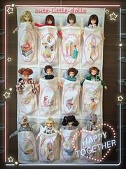 A little too heavy when it's full 😅😓😭 (cute-little-dolls) Tags: friends toy doll together kawaii aoto yuta petworks pureneemo azonedoll dollorganizer ruruko