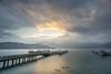 朝霧碼頭 (Sun Moon Lake) Fog (Kelvin Wen) Tags: 日月潭 朝霧碼頭 南投 魚池 α7ii sony a7ii nikon20mmf28 水沙連 sunrise 日出 雲 cloud 雲海 seaofclouds 霧 fog taiwan