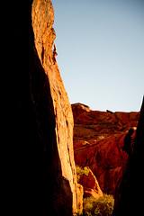 Red Rock November 13th (Max_Pop) Tags: red rock climbing drone dji phantom 3 advanced nikon d800 2485 america national park night