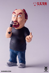 stand-up-figurine (pixelbudah) Tags: louis ck louie louisck luis arttoy toyart toydesign collectible designtoy designertoy fanart 3d printed printing 3dmodeling digital sculpt standup comedy oasim oasimkarmieh karmieh toy designer toymaker louieck louiscktoy collectibletoy handcraftedtoy