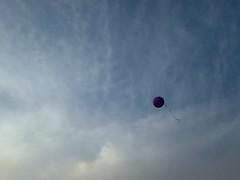Purple hope (pfriths) Tags: epilepsy brain purple sky balloon clouds