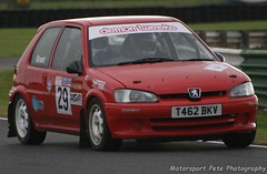 Peugeot 106 Harold Palin Memorial Stages Rally Mallory Park 2016 (Motorsport Pete Photography) Tags: peugeot 106 harold palin memorial stages rally mallory park 2016