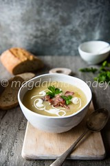 parsnip soup with bacon (magshendey) Tags: soup foodphoto foodstyling warming