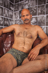 IMG_2270 (DesertHeatImages) Tags: joe hunter hairy furry daddy bear otter naked nude uncut indian moustache camo