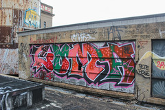 Coma (NJphotograffer) Tags: graffiti graff pennsylvania pa philadelphia philly abandoned building urban explore rooftop window coma oal crew