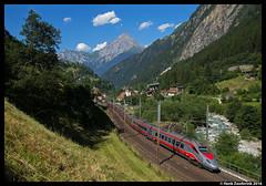 Trenitalia 610 002, Gurtnellen 20-07-2016 (Henk Zwoferink) Tags: gurtnellen uri zwitserland gotthard henk zwoferink