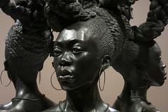 Location: a New Republic (Blinking Charlie) Tags: kehindewiley bound bronze sculpture sam seattleartmuseum canonpowershots110 washingtonstate usa blinkingcharlie interior 2016