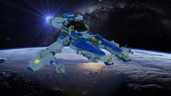 Vic viper NCS - in space (adde51) Tags: adde51 lego moc classic space spaceship classicspace vic viper vicviper ncs nnovvember novvember foitsop