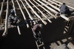 Leh Palace (Ravikanth K) Tags: 500px leh ladakh people travel india jammuandkashmir men ourdoor palace working restoration renovation