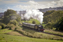 Memories of the SDJR (70C Photography) Tags: swanage 7f 53809 trains steam landscape dorset canon7d jamescummins sdjr england railways outdoor autumn uk southern