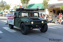 Santa Paula Police Humvee (VCStringer) Tags: santapaulapolice parade santapaula sppd humvee