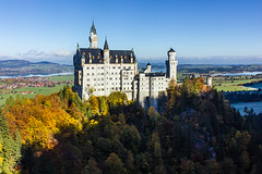 Bavaria-4 (Davey6585) Tags: europe travel wanderlust bavaria bayern germany deutschland fall color trees schwangau canon canont2i neuschwanstein schlossneuschwanstein cinderellascastle