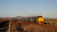 Cold Mountain (Richie B.) Tags: 2c41 millom cumbria drs northern trains direct rail services english electric british class 37 37402