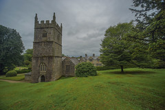 Photo of Lanhydrock house,church