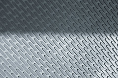 Illusory Thinking (Chris Huddleston) Tags: bumps pattern rubbermat texture doormat holes illusion