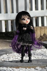 Andora - Pullip FC (Alluka Zoldyck) Tags: pullip pullips doll dolls custo custom fc full fullcusto fullcustom make makeup up face faceup gothic gothique handmade outfit witch sorcire sorciere cancan wig obitsu andora rche stock japan alluka october