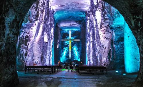 Colombie - Cathédrale de sel de Zipaquira