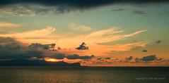Sep 24: Terrasini Sea Sunset 2 (johan.pipet) Tags: flickr sunset sea skyline evening sun clouds mediterranee island sicily terrasini italy eu europe palo bartos barto canon holiday travel summer autumn seascape landscape
