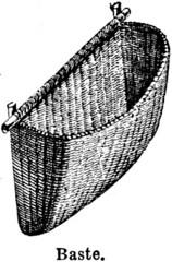 Anglų lietuvių žodynas. Žodis baste reiškia Iv sudaigstyti (drabužį); IIv mušti, belsti; IIIv užpilti taukų ar sulčių (kepant mėsą) lietuviškai.