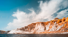 Scala dei Turchi False Color - Infrared (igzabeher) Tags: falsecolor infraredphotography travelphotography landscape ir scaladeiturchi landscapephotography wideanglephotography sicily italy seascape mediterraneansea travel stairoftheturks infrared realmonte sicilia it