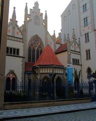 Maiselova Synagogue, Josefov, Prague (martin97uk) Tags: prague czech republic praha europe josefov jewish quarter maiselova synagogue maisel synagoga