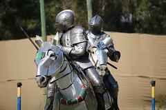 IMG_4748 (joyannmadd) Tags: horse rider joust spar duel warhorse hammoind louisiana armour outdoor game war combat midevil larenfest