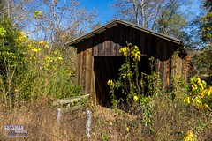 Cromer's Mill Covered Bridge (The Suss-Man (Mike)) Tags: bridge carnesville coveredbridge cromersmillcoveredbridge franklincounty georgia old ruralgeorgia sonyslta77 sussmanimaging thesussman wood royston unitedstates