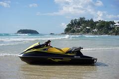 Phuket (8mr) Tags: seadoo jetski watersports beach kata katanoi waves patong phuket thai kraon karon hotel yellow tsunami surf