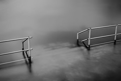 stairway to the unknown (Ferdinand Bart Alst - Pixel Your Soul Photography) Tags: longexposure le blackandwhite bw blackwhite fineartart gangway 180seconds norway grey gray 50mm nikon leefilter bigstopper sirui monochrome depthoffield lines