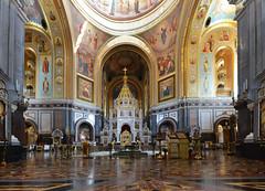 RUSSIE - Moscou - cathédrale du Christ-Sauveur (AlCapitol) Tags: moscou russie nikon d800 cathédraleduchristsauveur peinture icone sol eglise church russia rusia