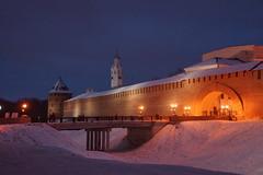 Velikiy Novgorod. Kremlin (aka Detinets). Gates from the City Side (Sergei P. Zubkov) Tags: velikiynovgorod november 2016 kremlin