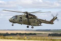 ZJ124_MerlinMk3_RoyalAirForce_SPTA (Tony Osborne - Rotorfocus) Tags: agustawestland eh101 aw101 merlin mk3 royal air force joint helicopter command jhc united kingdom salisbury plain training area spta pashtun jaguar 2011