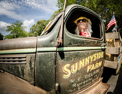 Sunnyside Farm (Steve Stanger) Tags: car truck carshow allairestatepark fisheye rokinon85mmf14 nikond7000 nikon d7000 newjersey nj rusty