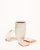 gracefacebook (1 of 1) (GraceEllenYoung) Tags: breakfast netflix coffeecup gilmoregirls lorelaigilmore poptart poster rorygilmore whitebackdrop