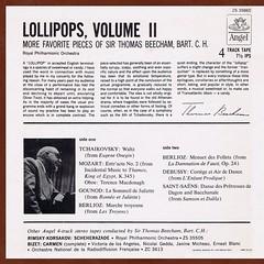 More Beecham Lollipops  Berlioz  Debussy  Tchaikovsky  Gounod  Saint-Saens  Mozart - Beecham RPO Angel R2R 2 (sacqueboutier) Tags: reel reeltoreel tape openreel open audiophile stereo classical classicalmusic music beecham lollipops encores encore
