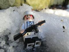 The Cold of Stalin's Heart (svidri.halfdan) Tags: lego ww2 stalingrad winter snow german ppsh41 wwii