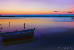 The world's best sunset (italianoadoravel .BACK ,,,,,,,,,,,,) Tags: mozia marsala trapani lagoon sunset worldsbestsusnet