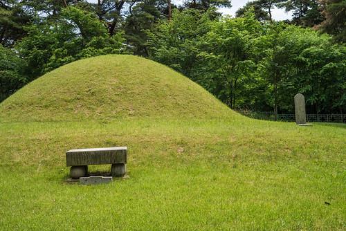 Royal Tomb at Namsan Park