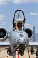 """Fairchild Republic A-10C Thunderbolt II of the Indiana ANG's 163 FS """"Blacksnakes"""" from Fort Wayne ANG Station (Norman Graf) Tags: blacksnakes 122fw 122ndfighterwing 163dfs 163dfightersquadron 790095 a10 a10c ang airnationalguard aircraft airplane cas closeairsupport davismonthanafb fairchildrepublic fortwayneairnationalguardstation hawgsmoke2016 in inang indianaairnationalguard jet militaryexercise plane thunderboltii usaf unitedstatesairforce warthog"""
