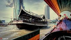 Chao Phraya River - Bangkok (Lцdо\/іс) Tags: boat chao phraya chaophraya fleuve bangkok river thailande thailand bateau asia asie capital citytrip city trip holiday vacance vacation 2016 novembre flickr explore