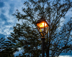 The night Is coming (gianlucamulone) Tags: night lamp city