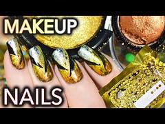 Nails using $$$ makeup! Metalmorphosis 005 Kit GOT NAILED (Download Youtube Videos Online) Tags: nails using makeup metalmorphosis 005 kit got nailed