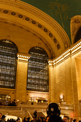 Grand Central Terminal concourse and part of the ceiling (peripathetic) Tags: 2016 5d 5dmk3 5dmkiii america canoneos5dmk3 nyc newyorkcity us usa unitedstates canon ceiling grandcentral grandcentralstation grandcentralterminal mainconcourse manhattan manhattanisland newyork windows