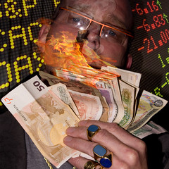 Money to burn (jopperbok) Tags: jopperbok werehere wah hereios portrait portraits selfportrait selfie money flame cigar decadence opulence opulent rich ring rings numbers music square aex dax exchange jewelry gold decadent benjimans burn fire number paper wealth wealthy flickrfriday xmas christmas market