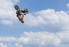 Sports (napshot.photographe) Tags: 2 sky cloud lake water bike jump bmx mark sony lac front double tricks flip ii cycle condor alpha 77 stunt naps a77 backflip napshot reiningue