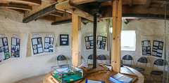 Holgate Windmill summer exhibition 2015 (nican45) Tags: york panorama slr history mill windmill canon photography display yorkshire july sigma wideangle exhibition dslr 1020mm 1020 holgate 2015 hwps 1020mmf456exdc holgatewindmill eos70d binfloor 25july2015 25072015