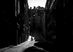 Walking Shadow (Olderhvit) Tags: street light shadow blackandwhite lumix photography streetphotography panasonic streetphoto minimalism goteborg gatufoto gatufotografi framingthestreet olderhvit 1020369 dmcgx7