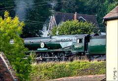 34053 Sir Keith Park (brianac37) Tags: shropshire engine severnvalley steamlocomotive severnvalleyrailway highley alvley