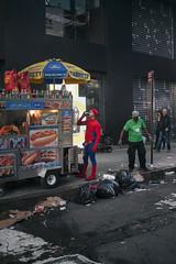 Dans Ma Rue (seymour templar) Tags: spiderman timessquare seymourtemplar